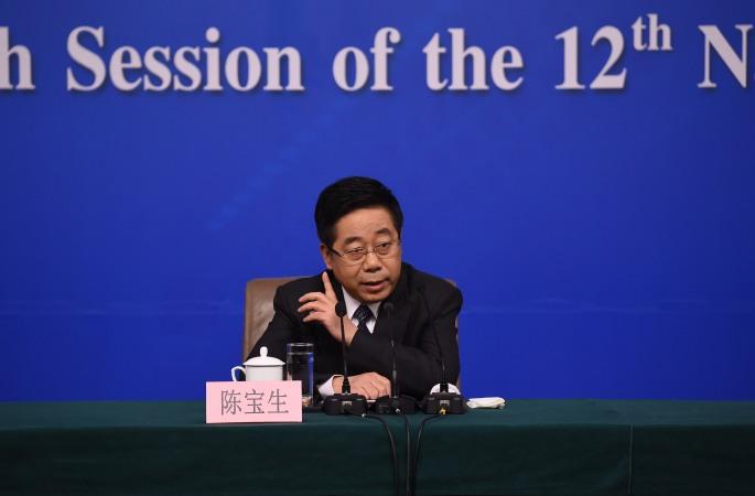 中 교육부 부장, '교육 개혁 발전'에 관해 기자 질문에 대답