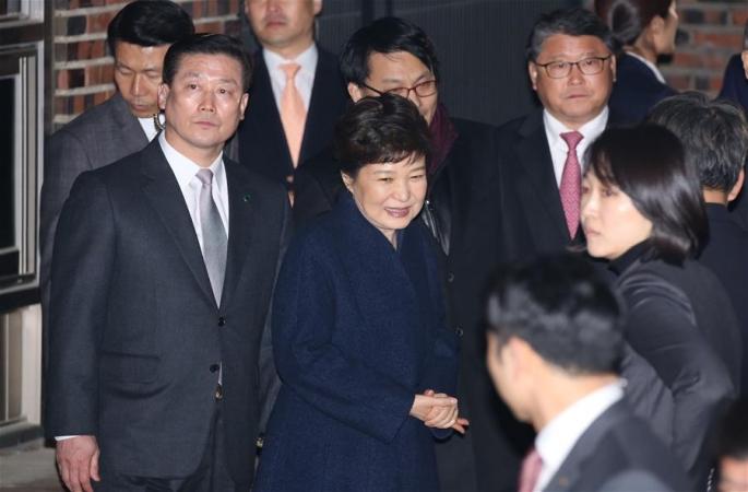 박근혜 청와대 퇴거