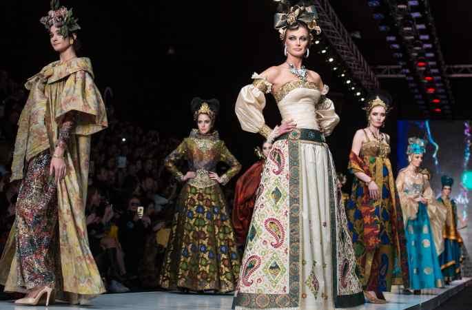 2017 러시아 패션위크 모스크바서 개막