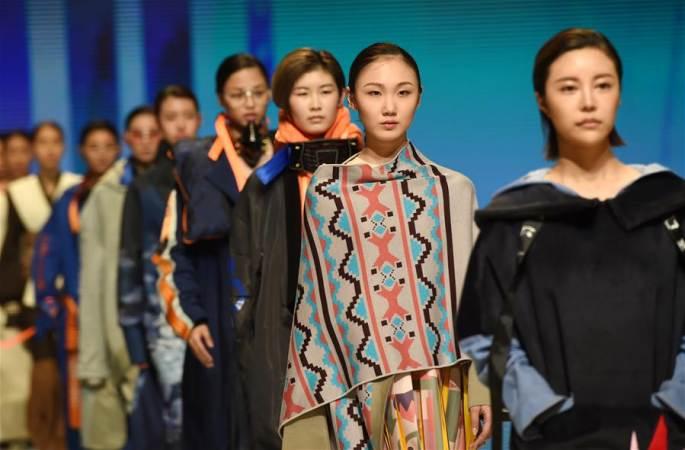 베이징복장학원 2017년 졸업생 디자인 전시회 개막