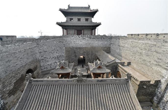 中, 명나라 타이위안현성 웅장한 옛날 모습 재현