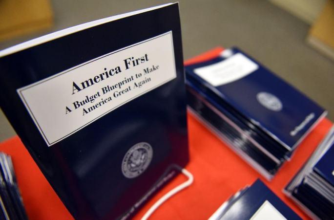 트럼프 정부, 예산안 발표