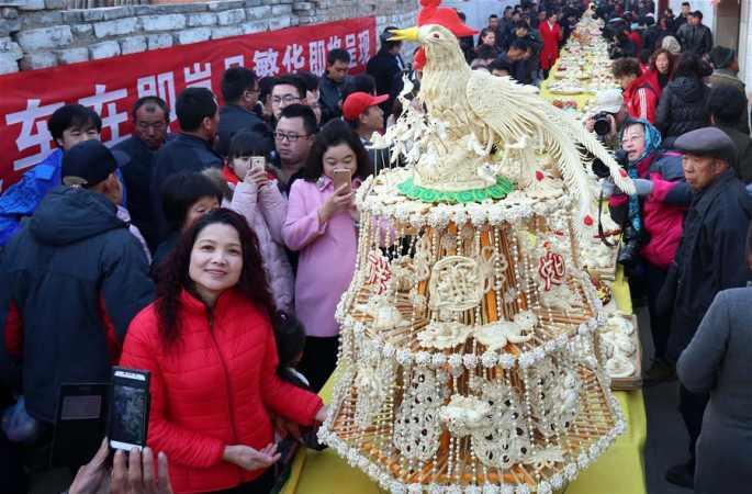 산시 란현, 전통 란성 공회 열려