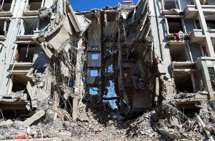 네이멍구 주민 아빠트 폭발...사망자 5명으로 늘어