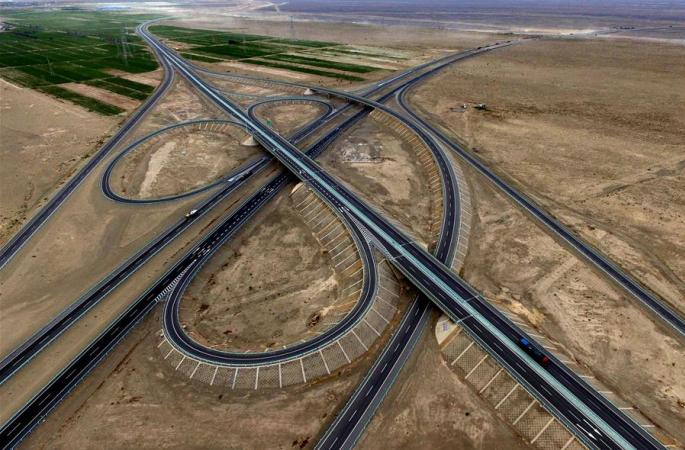 京新고속도로,신장 하미 - 간쑤 밍수이 구간 노선 곧 개통