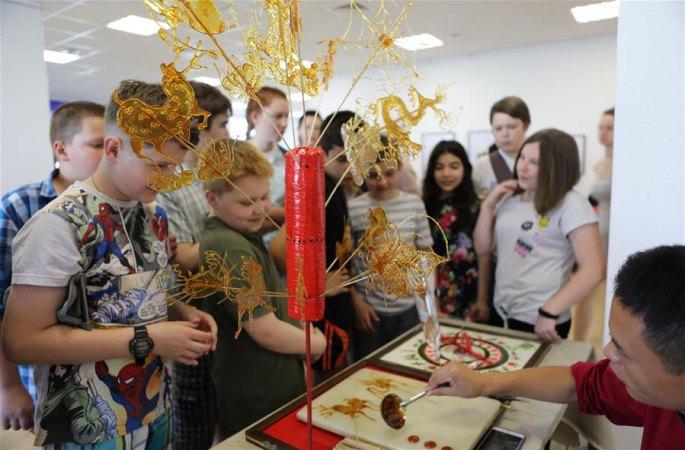 '중국 비물질문화유산 주간' 벨로루시에서 개막