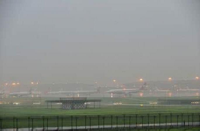 폭우침습,화베이항공관리부서소나기날씨보장프로세스가동