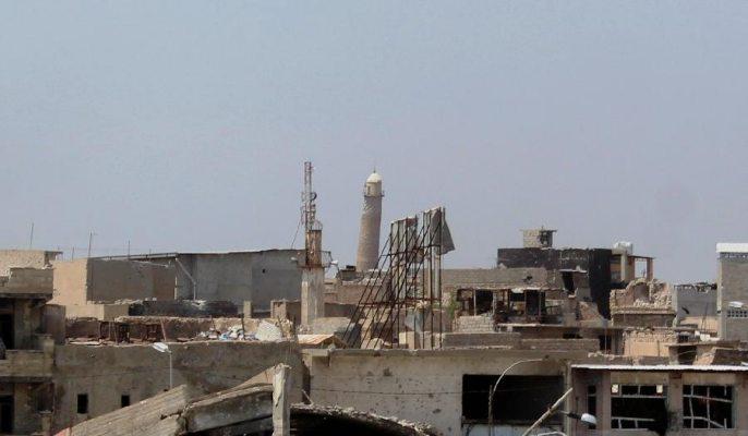 'IS', 모술 알누리 대모스크 폭격