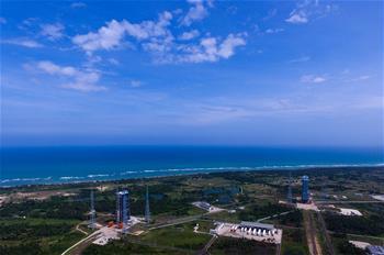 (분발, 분투의 5년) 별들을 향한 '신기한 활': '우주비행 꿈'의 새로운 미션을 실은 중국 원창위성발사센터