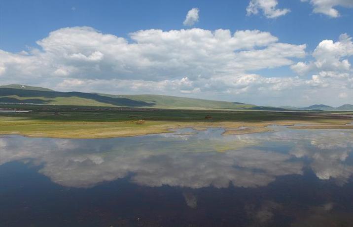 간쑤 간난:아름다운습지자연의그림