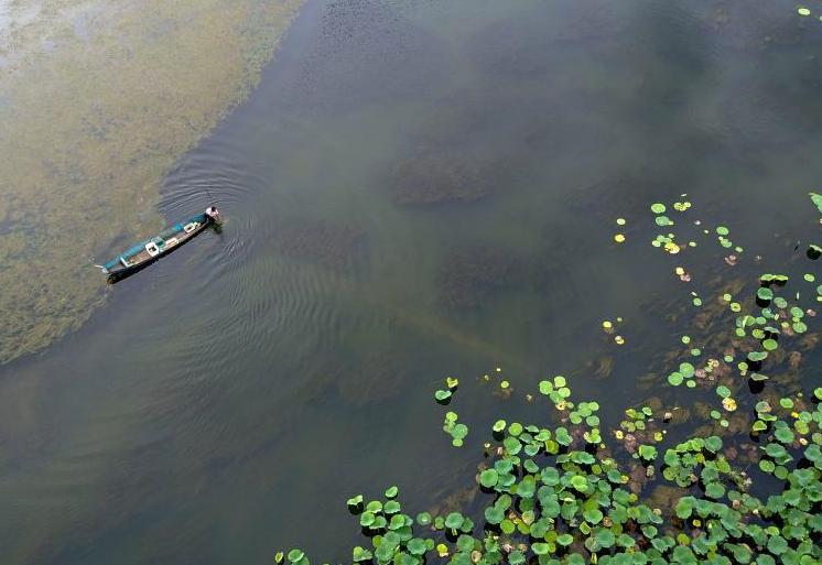 윈난성 푸저헤이 관광지, 산수가 아름다워 사람들을 도취