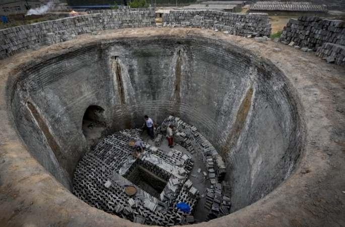 허베이성 고건축물 내화벽돌: 흙과 불 예술의 결정체