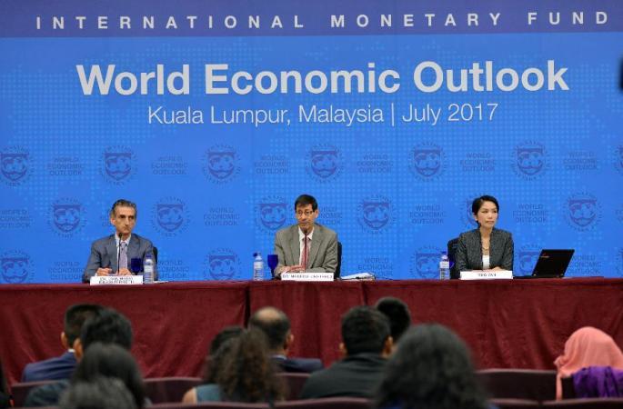 (뉴스 번역)IMF 중국 경제성장률 전망치 또 상향 조정