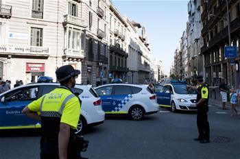 스페인 바르셀로나서 테러습격 발생...13명 숨지고 80명 부상