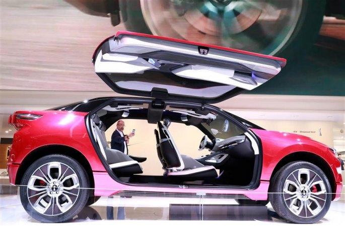 中 신에너지 자동차, 프랑크푸르트 모터쇼서 빛나게 등장