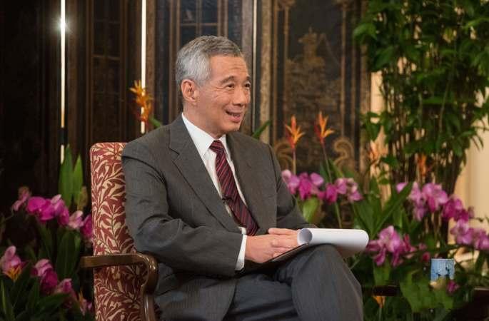리셴룽 싱가포르 총리 신화망 인터뷰 수락