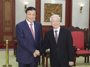 류윈산 베트남 공식 방문
