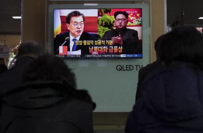 한국, 조한 판문점 연락채널로 통화했다고 확인(포토)