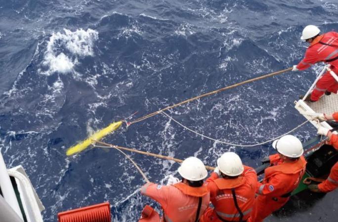 '하이이(海翼)' 수중글라이더 처음으로 인도양서 응용
