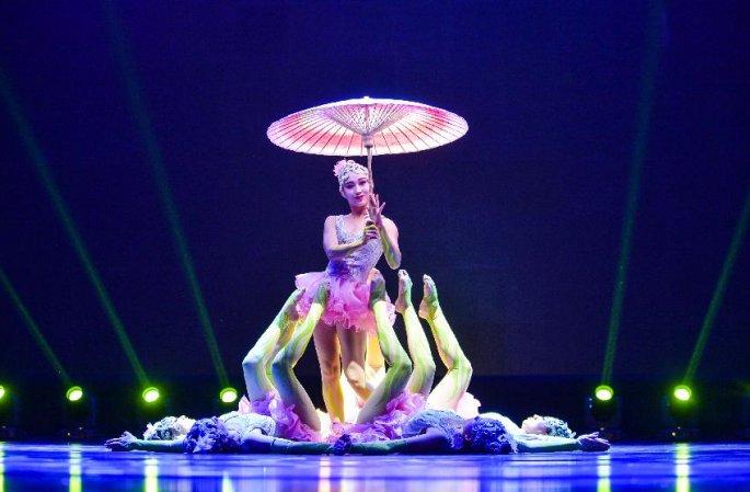 제2회 징진지 서커스 프로그램 선전공연 베이징서 거행