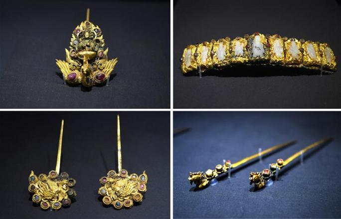 장시성박물관, 명나라 왕비 액세서리전 오픈
