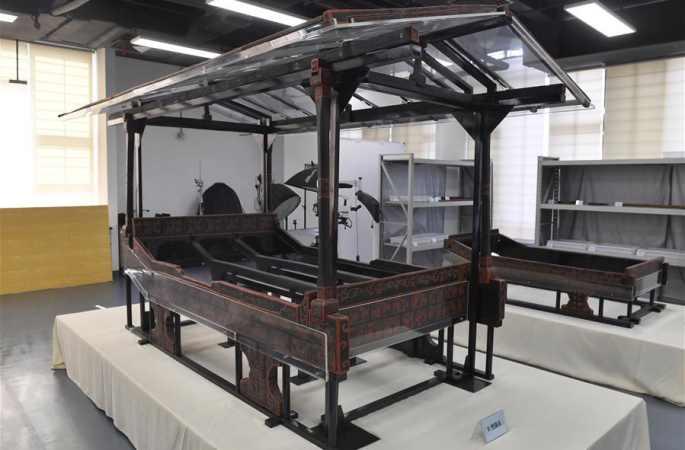 고대 촉나라 '용상' 청두서 복원