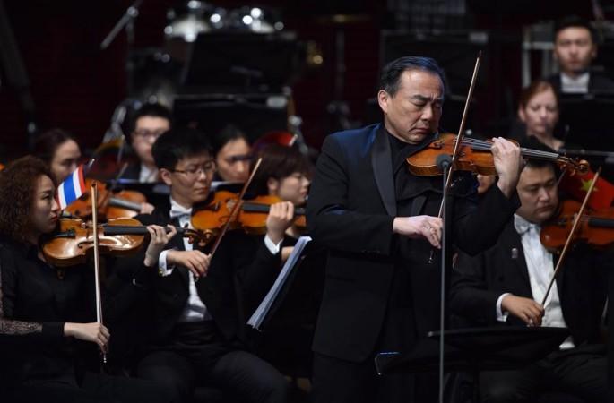 2018년 선전 '일대일로' 국제음악페스티벌 개막