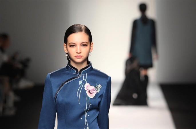 '중국풍' 요소 상하이 패션위크서 빛나