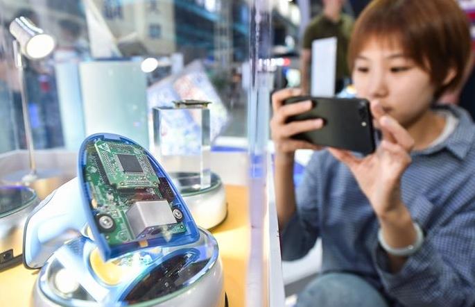 디지털 국민안전 디코더 칩, 디지털 중국건설 성과전서 공개