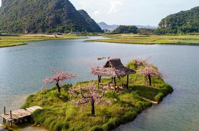 윈난 푸저헤이: 그림같이 수려한 산수