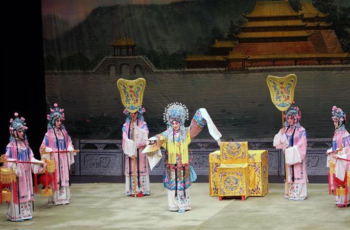 홍콩서 경극대사 메이란팡 예술 특별 공연 상연