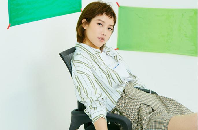 쑤칭, 컬러풀 컨셉의 화보 공개…독특한 패션 감각 연출