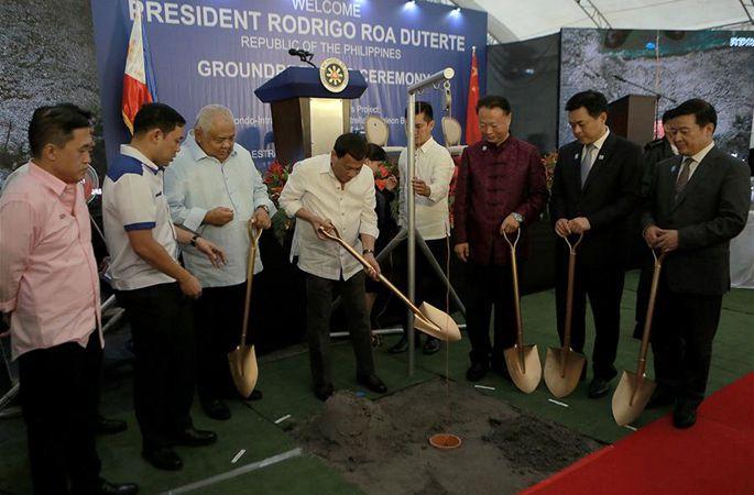 중국이 원조하여 건설하는 마닐라 파시그강 교량 프로젝트 착공