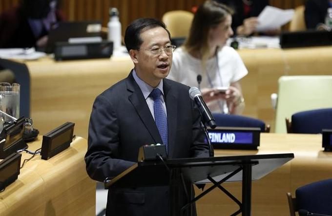 중국 대표, 2030년 의제 이행 적극 추진 촉구