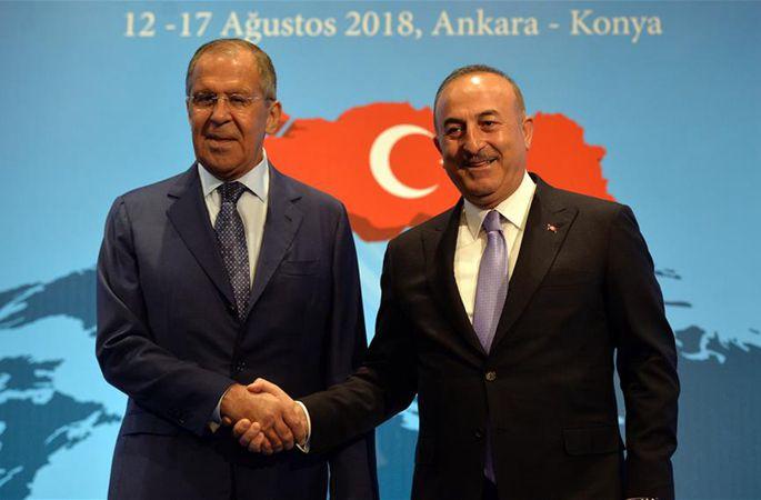 터키·러시아 외무장관, 美 제재 조치를 동시에 비난
