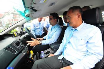 100여대 중국산 신에너지 자동차, 곧 태국서 운영에 투입