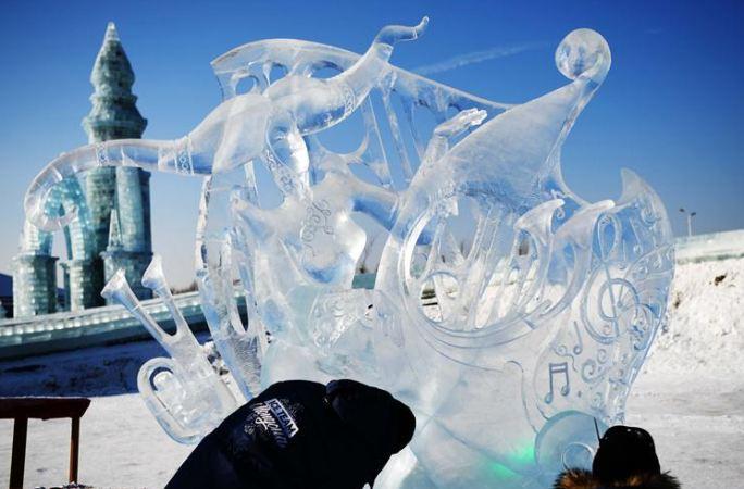 하얼빈 국제얼음조각대회 폐막