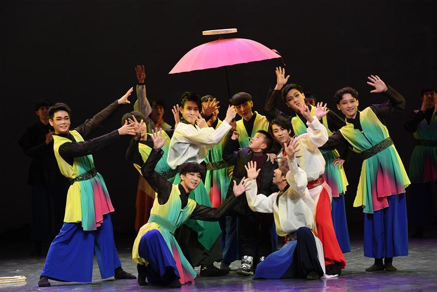 대형 무대극 '아리랑 대지의 노래' 란저우서 상연