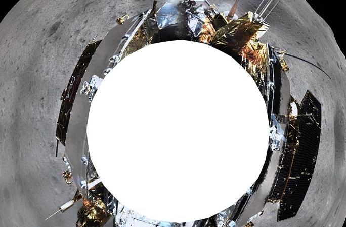 창어4호 착륙선, 달 심야에 정상적으로 작업…지형·지모카메라 360도 촬영 순조롭게 완성