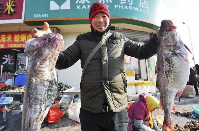중국, 설맞이 용품 준비 한창