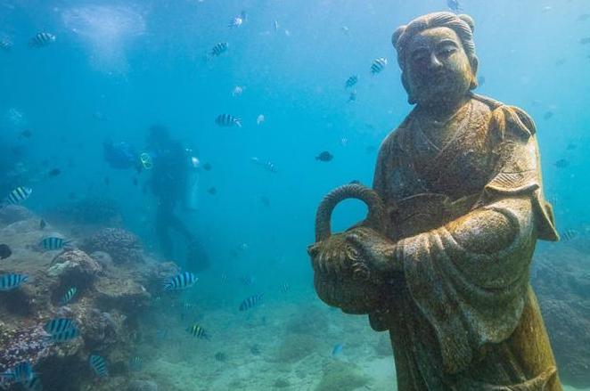 하이난 링수이, 해저 문화경관 및 해양생물 '안전가옥' 조성