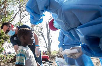 중국 구조대 모잠비크 피해지역서 구조활동