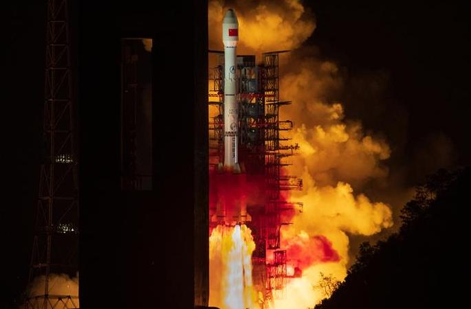 中, 2세대 데이터 중계위성 시스템 첫 위성 성공 발사