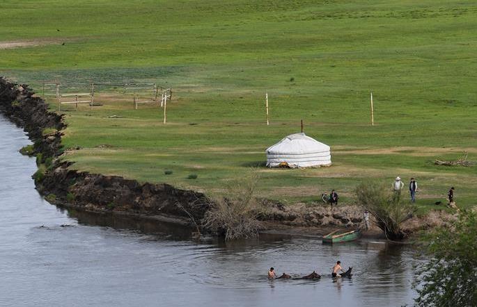 (뉴스 번역) 여름의 몽골 초원…목가적 낭만 물씬