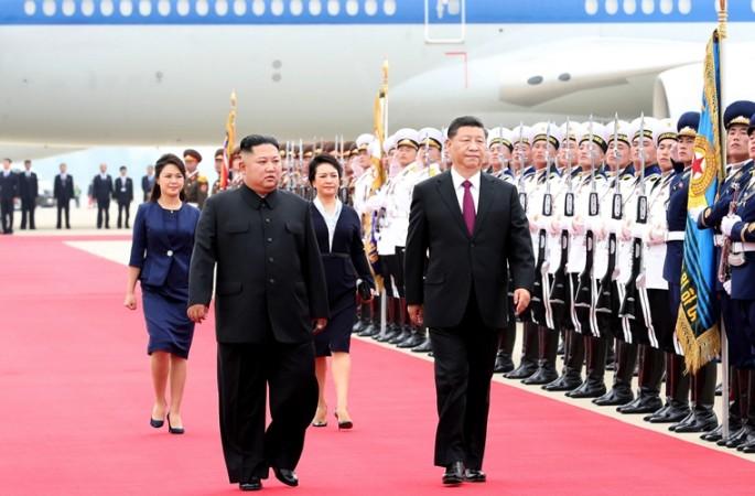 시진핑, 평양에 도착해 조선에 대한 국빈방문 시작
