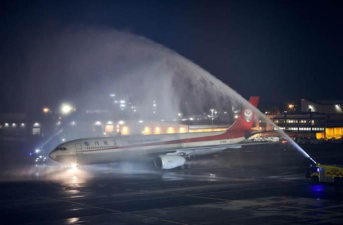 쓰촨항공, 청두-헬싱키 직항로 개통
