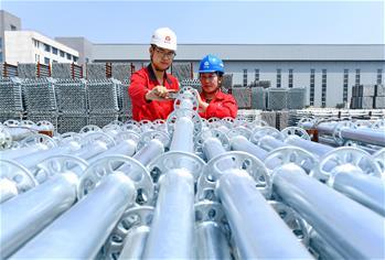 허베이 라오팅: 징진지 산업 '접수'해 경제의 질적 발전 추진