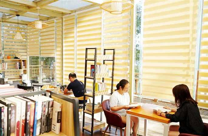장시 간저우: '15분 독서권'…책 향기 가득한 도시