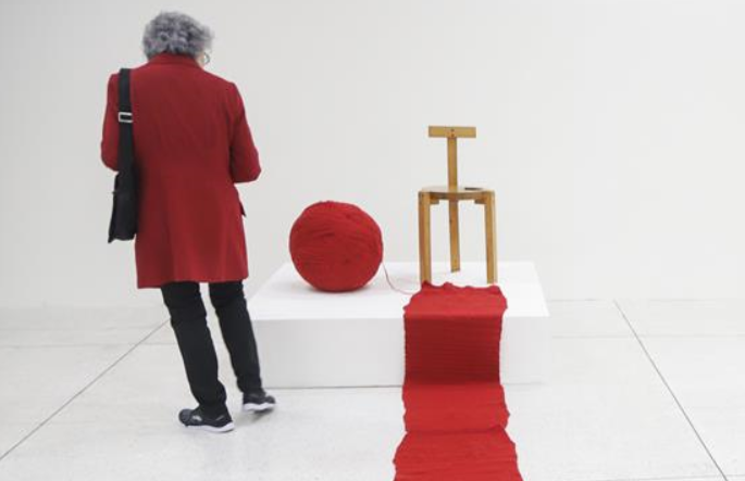 브라질 쿠리치바 비엔날레 개막…중국 예술품에 '시선 집중'