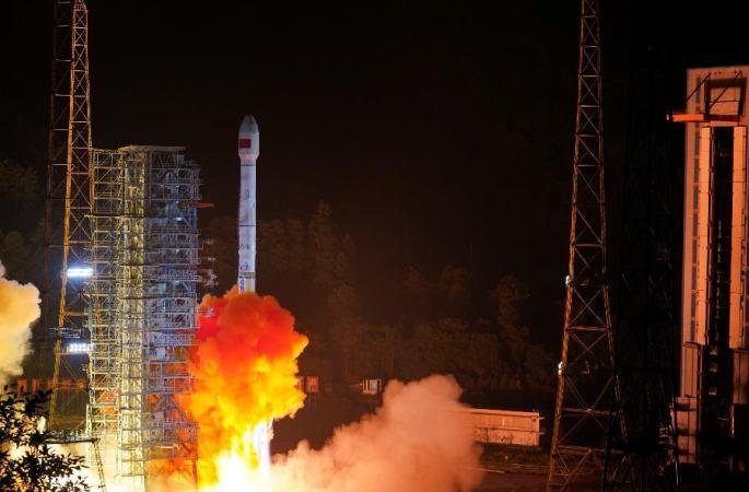 中, 베이더우3호 위성 2매 성공적으로 발사… '1로켓 2위성' 베이더우 시스템